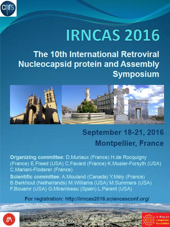10th International Retroviral NucleoCapsid and Assembly Symposium