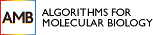 Algorithms for Molecular Biology logo